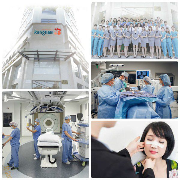 Hệ thống cơ sở tiên tiến cùng đội ngũ y bác sĩ chuyên nghiệp tại thẩm mỹ kangnam