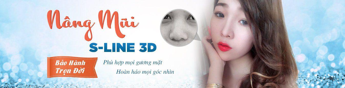 """Nâng mũi S line 3D – Mũi đẹp chuẩn theo tỉ lệ """"vàng"""" – Bảo hành trọn đời"""