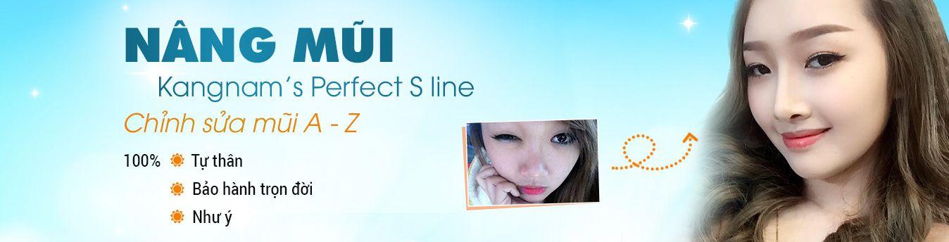 Phẫu thuật nâng mũi Kangnam perfect s line mũi đẹp hoàn hảo