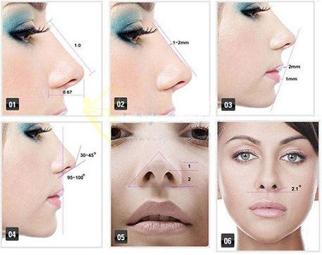 tiêu chuẩn của một chiếc mũi đẹp-2