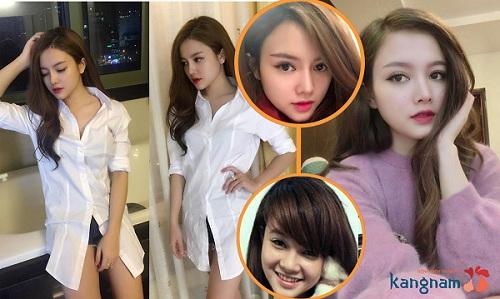 Hot Girl Kiều Trang xinh đẹp hơn sau làm mũi cao tại Kangnam