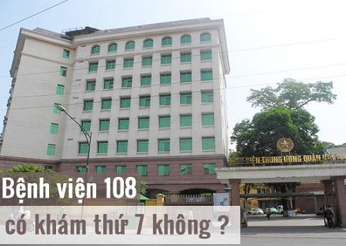 bệnh viện 108 khám theo yêu cầu