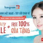 Crazy sale + Free 100% quà tặng – Ngày vàng tư vấn thẩm mỹ Kangnam
