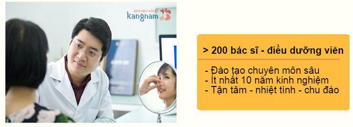 Kangnam với đội ngũ các bác sĩ nâng mũi Hàn Quốc giỏi