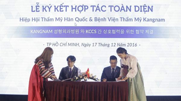 Bệnh viện thẩm mỹ Kangnam - đối tác chiến lược của Hàn Quốc