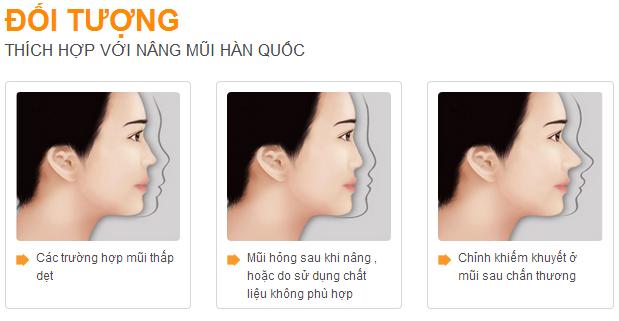 doi tuong nang mui han quoc