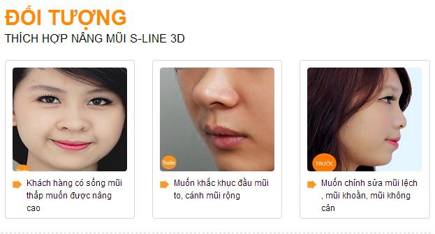 doi tuong nang mui s line 3d