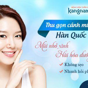 Phẫu thuật thu gọn cánh mũi Kangnam – KIẾN THỨC VÀNG cần nắm