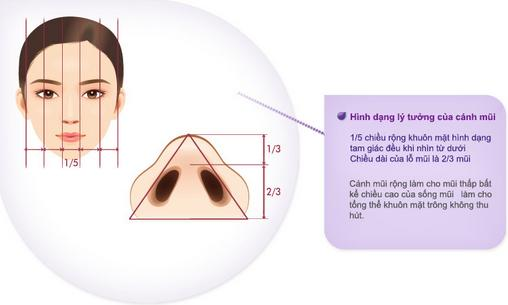 Thu nhỏ đầu mũi có khắc phục đầu mũi to dày hiệu quả